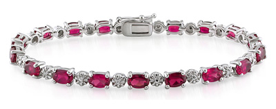 Gemstones Ruby Bracelet