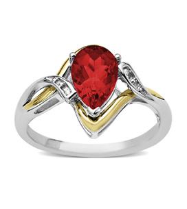 Gemstones Ruby Ring